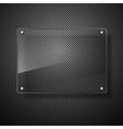 abstract plane on black wall eps 10 vector image