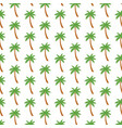background pattern with palm trees vector image