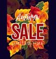 bright design of seasonal sale poster vector image vector image
