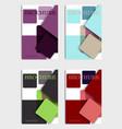 brochure design brochure template creative vector image vector image