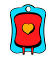 donate blood icon icon cartoon vector image