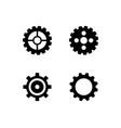 gear icon logo icon vector image vector image