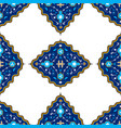 Oriental seamless pattern vector image
