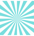 retro sunburst background vector image vector image