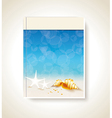 Your best travel magazine vector image vector image