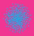 Bright confetti background vector image
