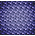Dark blue geometric cubic background vector image