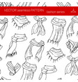 fashion set graphic style vector image vector image