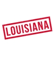 Louisiana rubber stamp vector image vector image