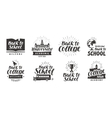 School college set icons Beautiful calligraphic vector image vector image