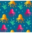Seamless patterns sea vector image vector image