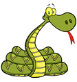 Snake Cartoon Character vector image vector image