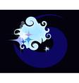 Cosmic background vector image
