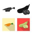 Design of vegetable and fruit logo