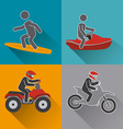 Extreme sport design vector image vector image