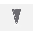 Kitchen Cooking Bag Cone Cream Element or Icon vector image