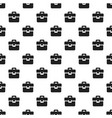 suitcase pattern seamless vector image vector image