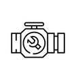 auto parts line icon concept sign outline vector image