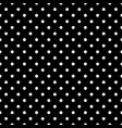 black and white polka dot seamless eps 10 vector image