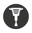 hammer hidraulic tool icon vector image