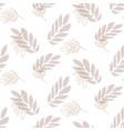 lavender leaf seamless pattern background vector image vector image
