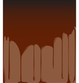 Molten Chocolate Background vector image vector image