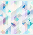 pastel color geometric pattern vector image vector image