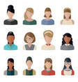 people icons set people icons set vector image vector image