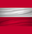 poland flag flag of poland blowig in the wind vector image
