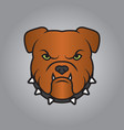 police dog head and mascot good for symbol vector image