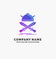 battle emblem viking warrior swords purple vector image