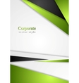 Bright colorful corporate background vector image vector image