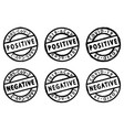 covid-19 distress stamps vector image