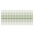 eco startup hand shape halftone effect vector image