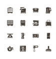 kitchen - flat icons vector image vector image