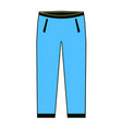men s pants - fashion element men s jeans vector image vector image