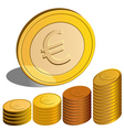 money euro vector image vector image