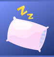pillow icon vector image