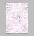 pink pentagram star shape pattern background vector image vector image