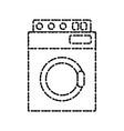 washer machine appliance vector image