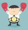 Business Champion fat vector image vector image