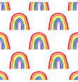 colorful simple seamless pattern symbol pride vector image vector image