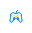 gamepad game controller icon vector image vector image