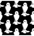 Halloween night ghosts seamless pattern vector image vector image