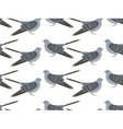 pattern of Cuckoo vector image vector image