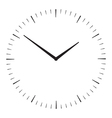 Simple clock icon vector image