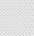 White triangle seamless pattern background vector image vector image