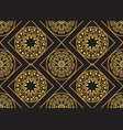 a gold seamless pattern for the card vector image