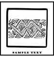 Aztec Ethnic Motif Pattern vector image vector image