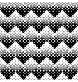 black and white seamless geometrical square vector image vector image